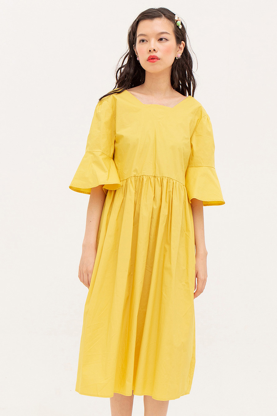 JULIEN DRESS - BUTTER