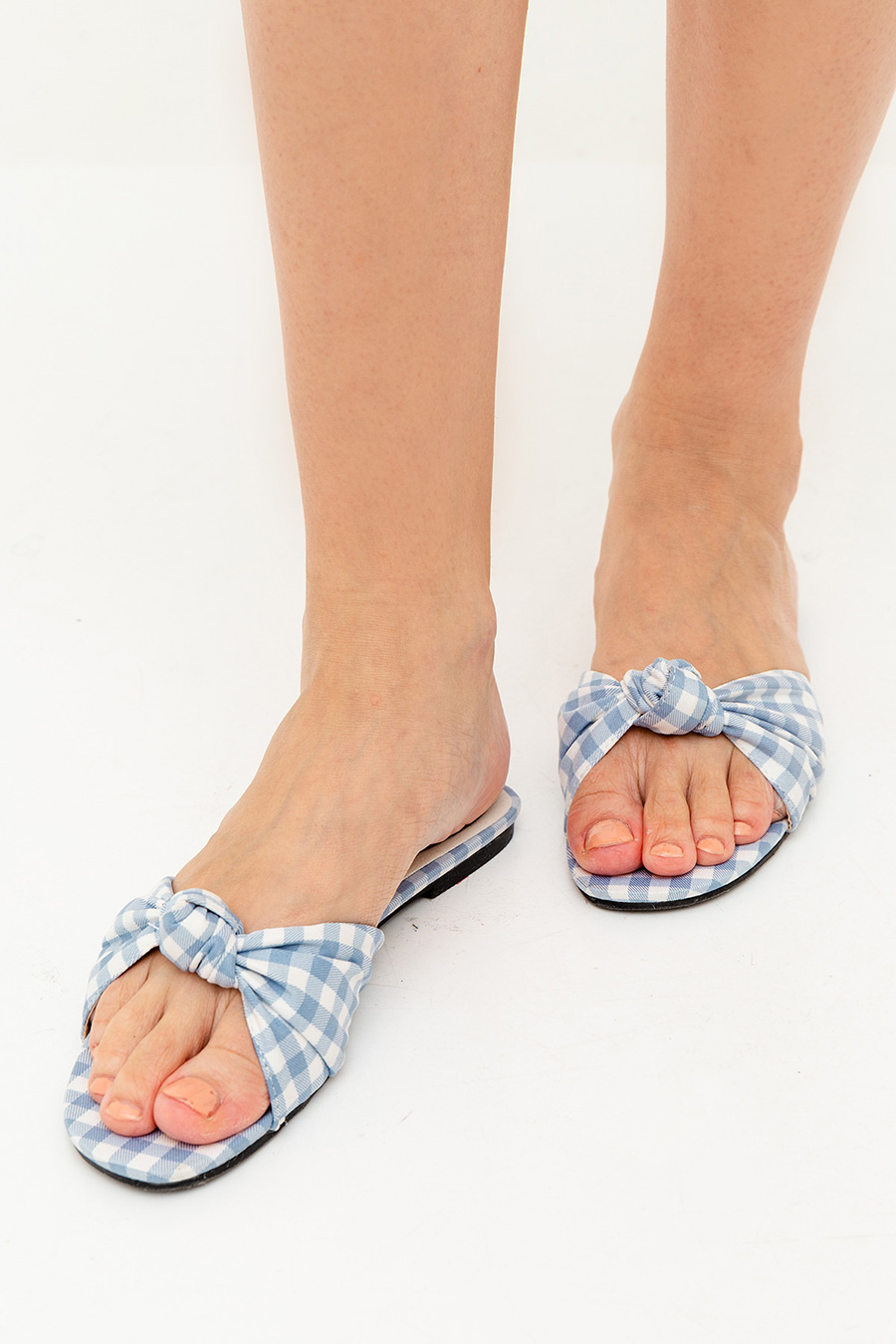 JULIETTE SHOES - GINGHAM