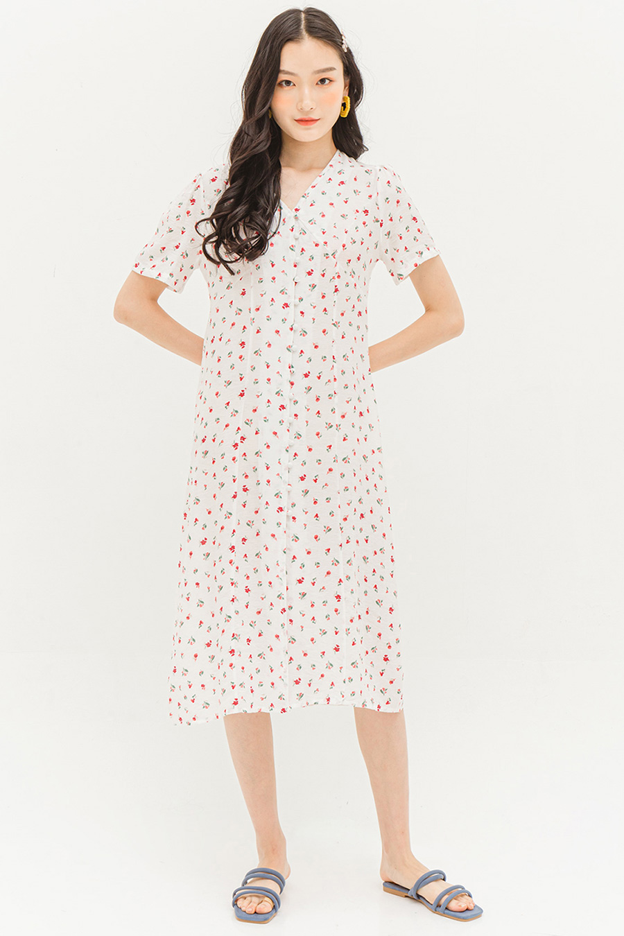 JULISSA DRESS - FREESIA