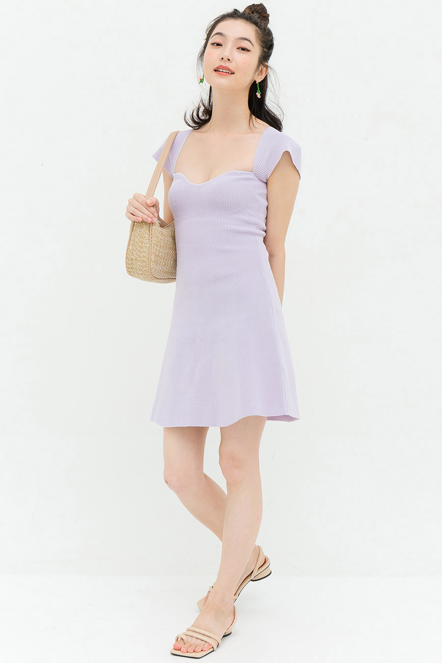 *BO* KAISER DRESS - LAVENDER