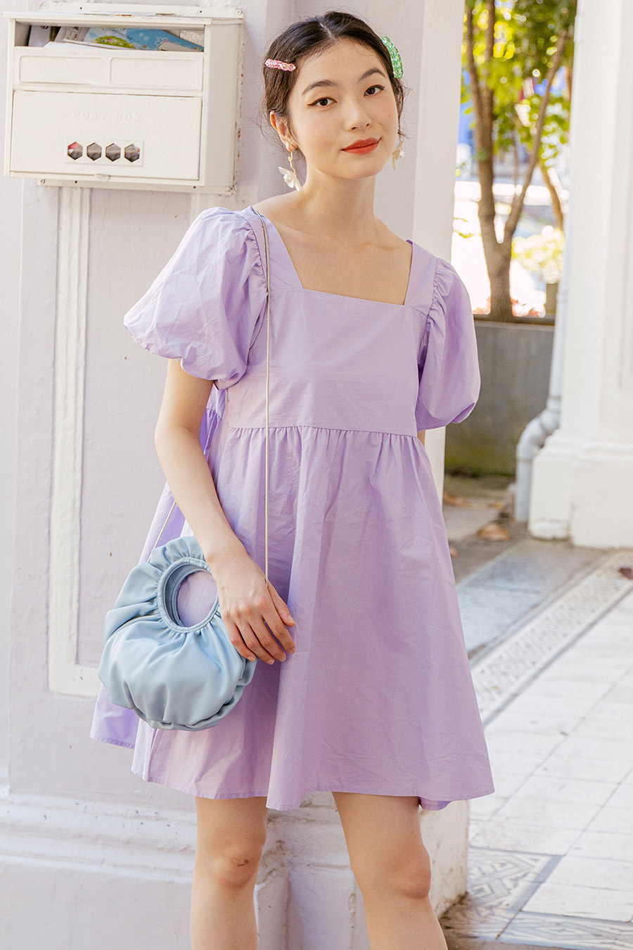*BO* KAYLA DRESS - LAVENDER