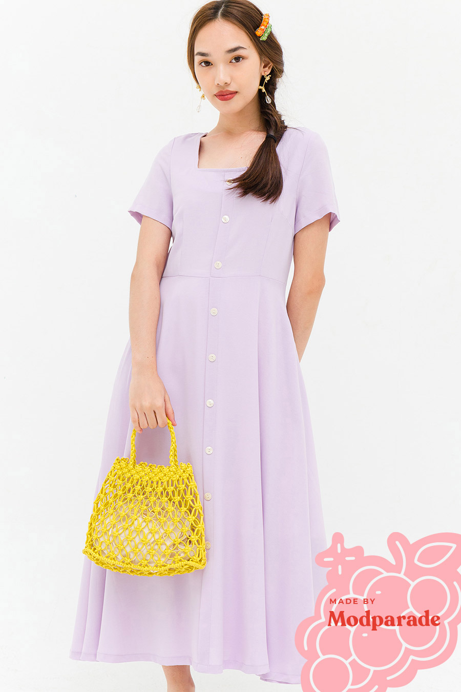KELLIE DRESS - LAVENDER [BY MODPARADE]