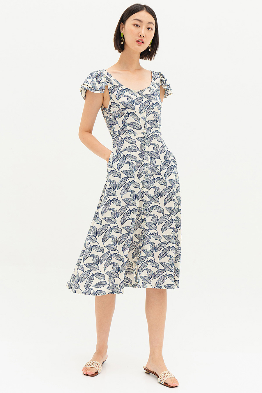 *SALE* KERITH DRESS - NABANA [BY MODPARADE]