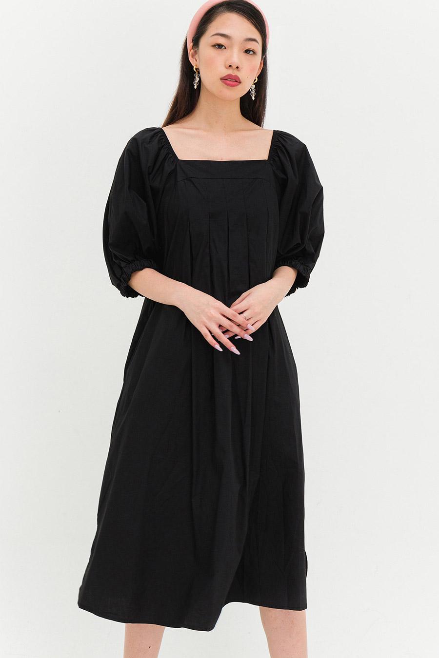 KIMBERLY DRESS - NOIR