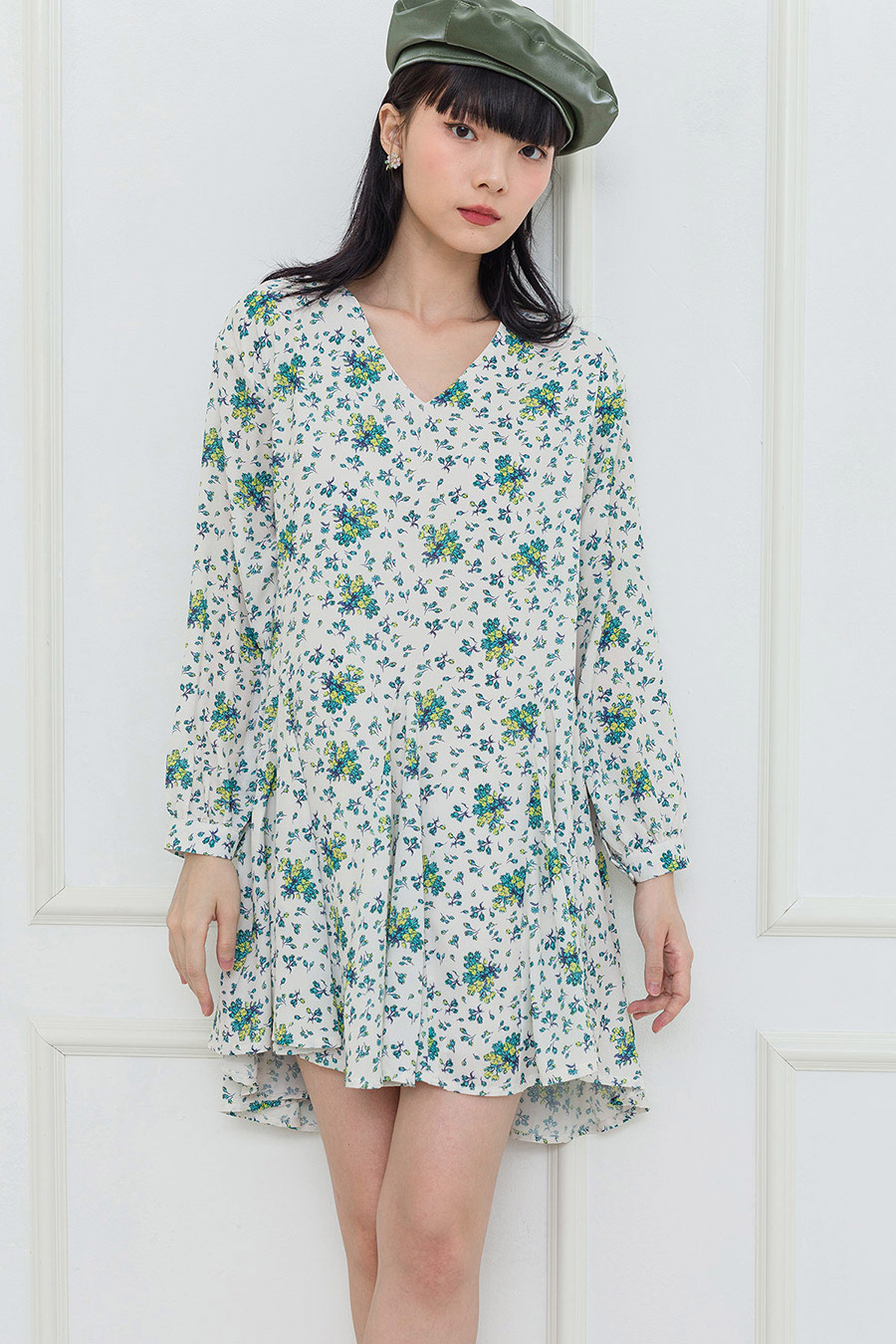 KITTO DRESS - IVORY FLEUR
