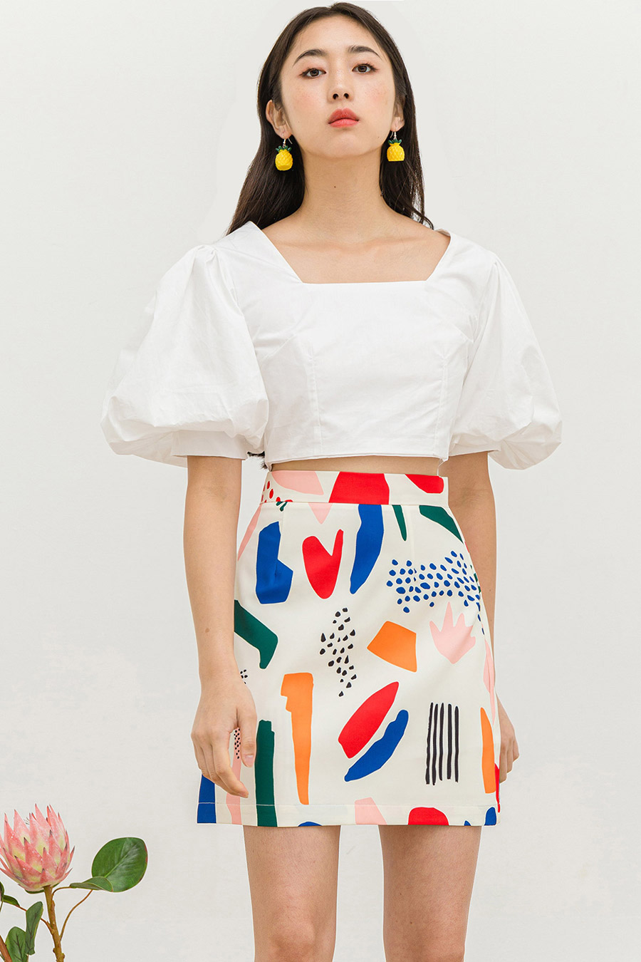 KONISHI SKIRT - GEO ATTACK