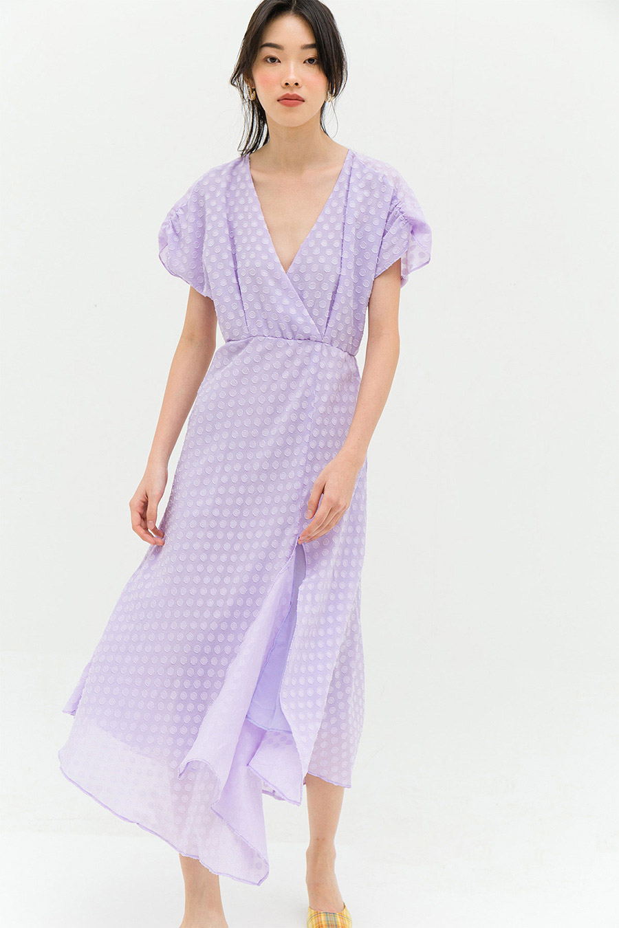 *RESTOCKED* LAFAILLE DRESS - WISTERIA