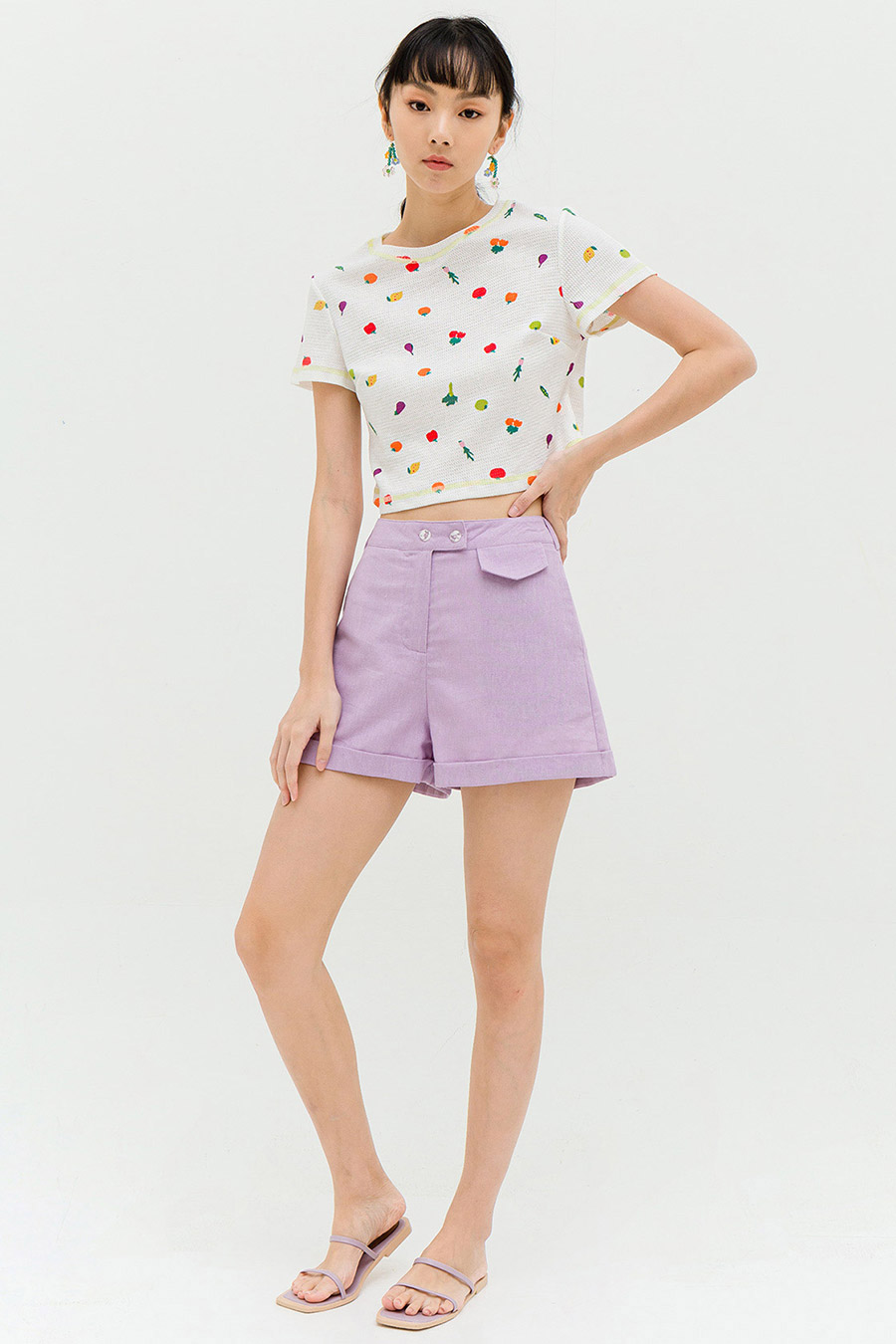 *RESTOCKED* LARA TOP - FRUIT LOOP