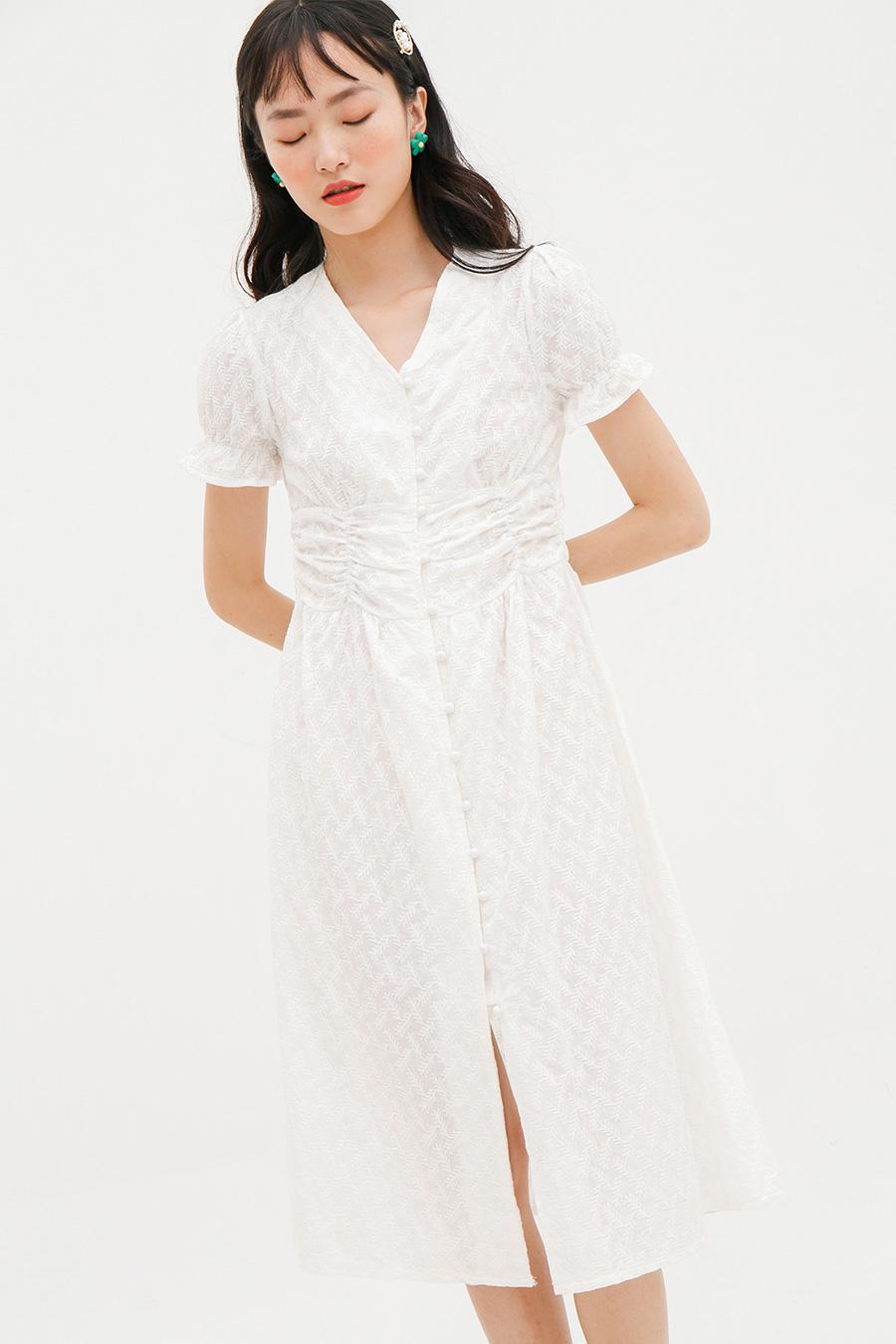 LAROUSE DRESS - IVORY