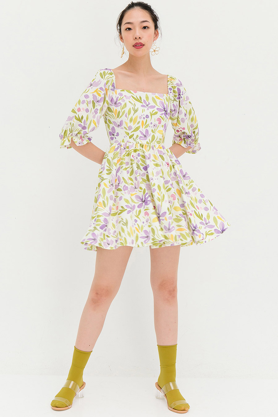 *BO* LAURA DRESS - SWEET PEA [BY MODPARADE]