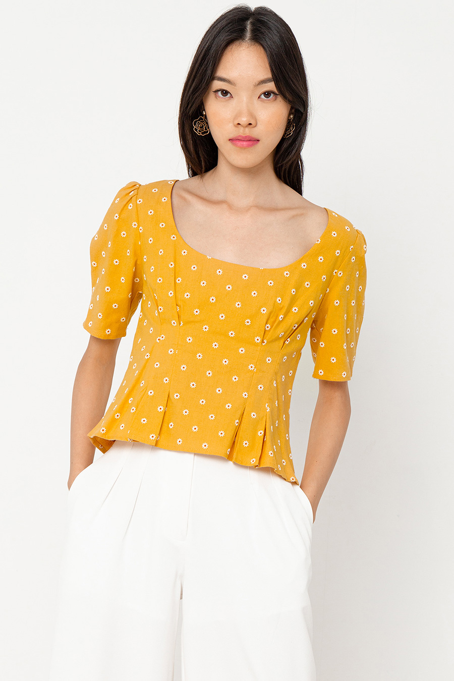 LAURA TOP - DAISY