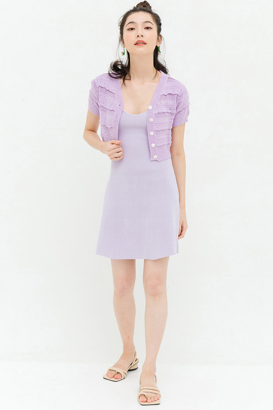 LAURA TOP - LAVENDER