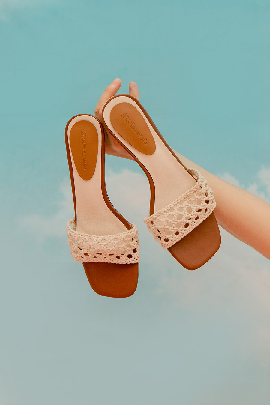 LAUREL SHOES - IVORY