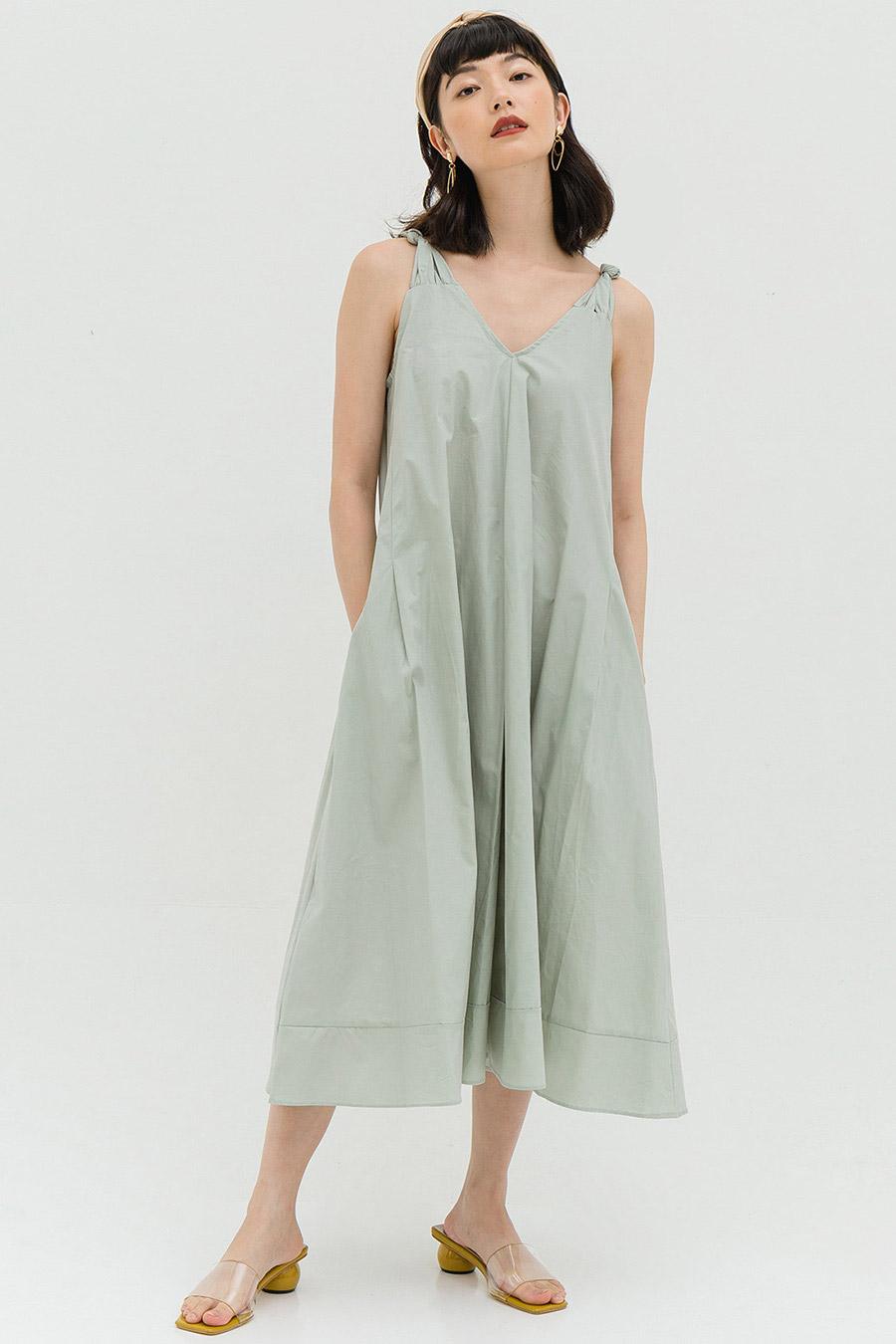 LEA DRESS - SEAGLASS