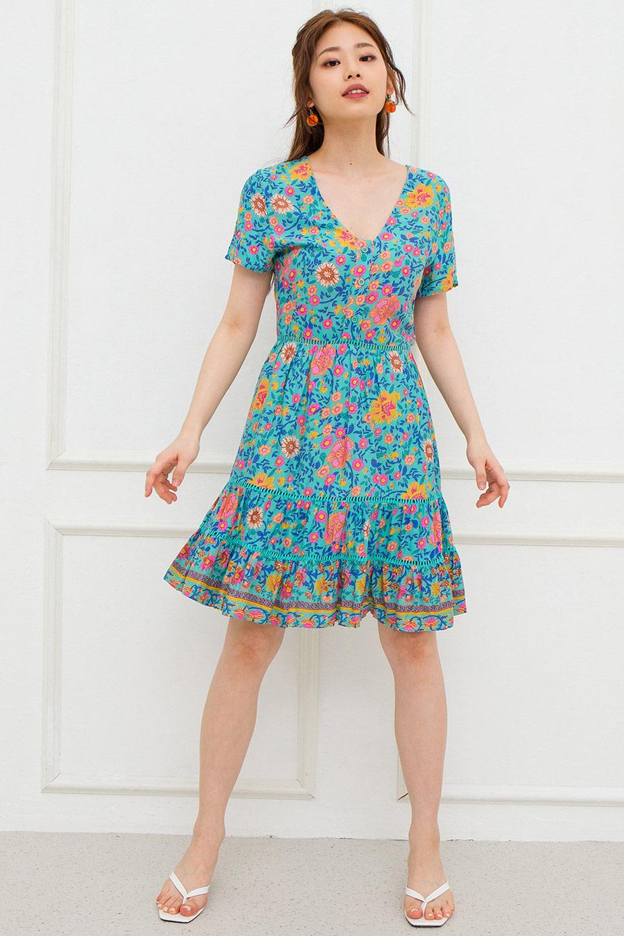 LEAHIE DRESS - NYONYA GLORY