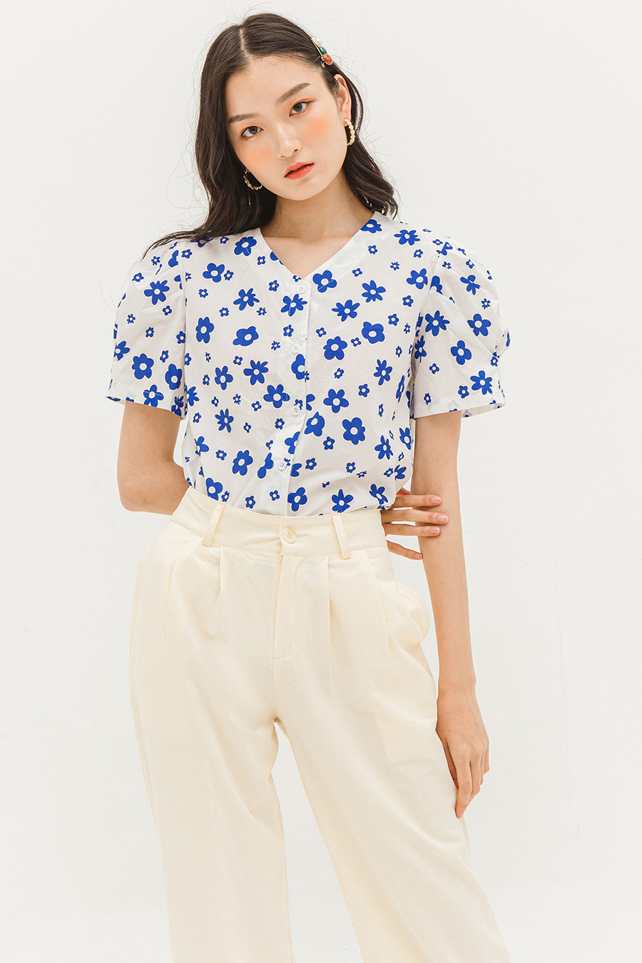 LEIANI TOP - POPPY