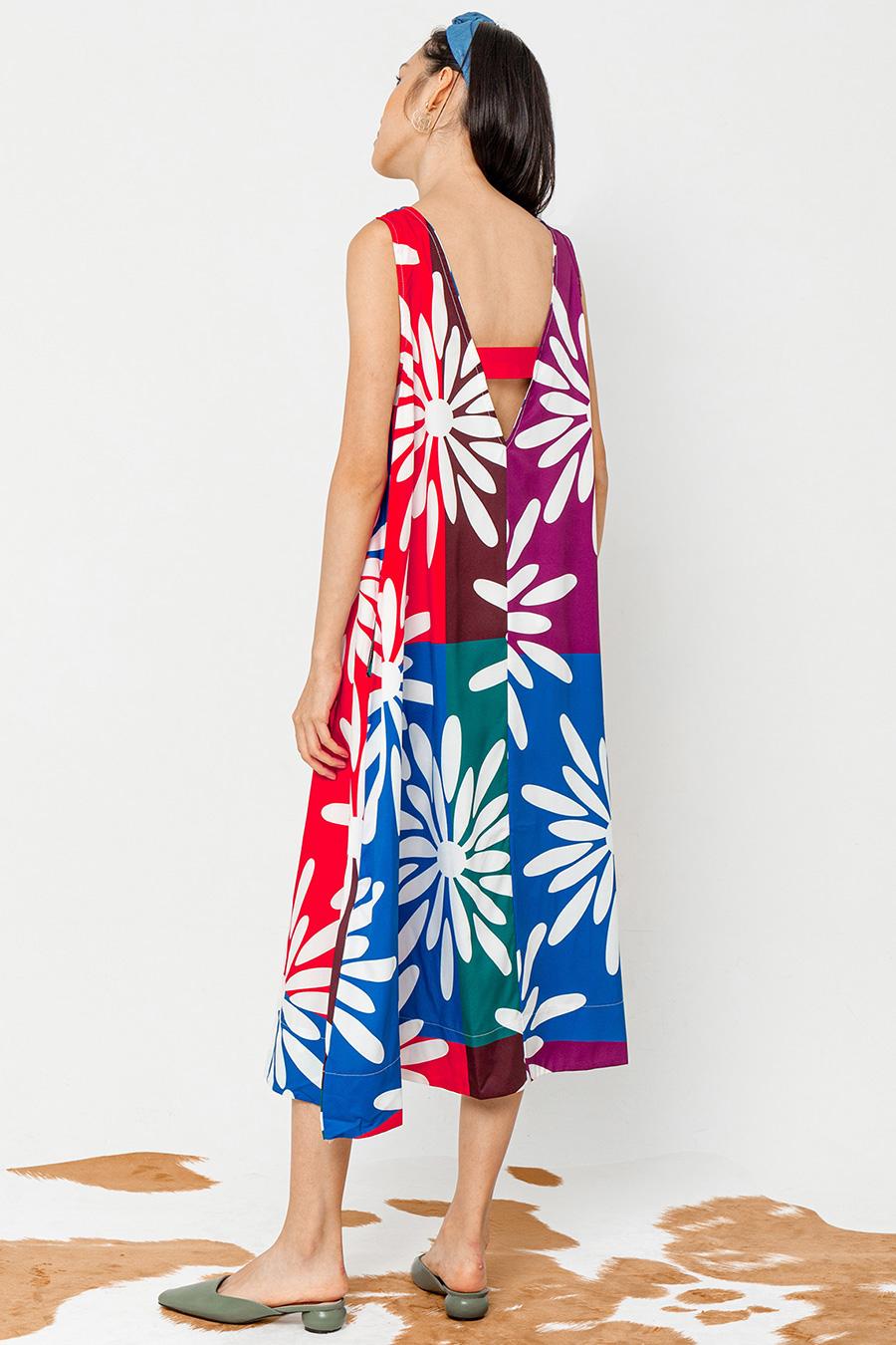 LENNON DRESS - DAHLIA