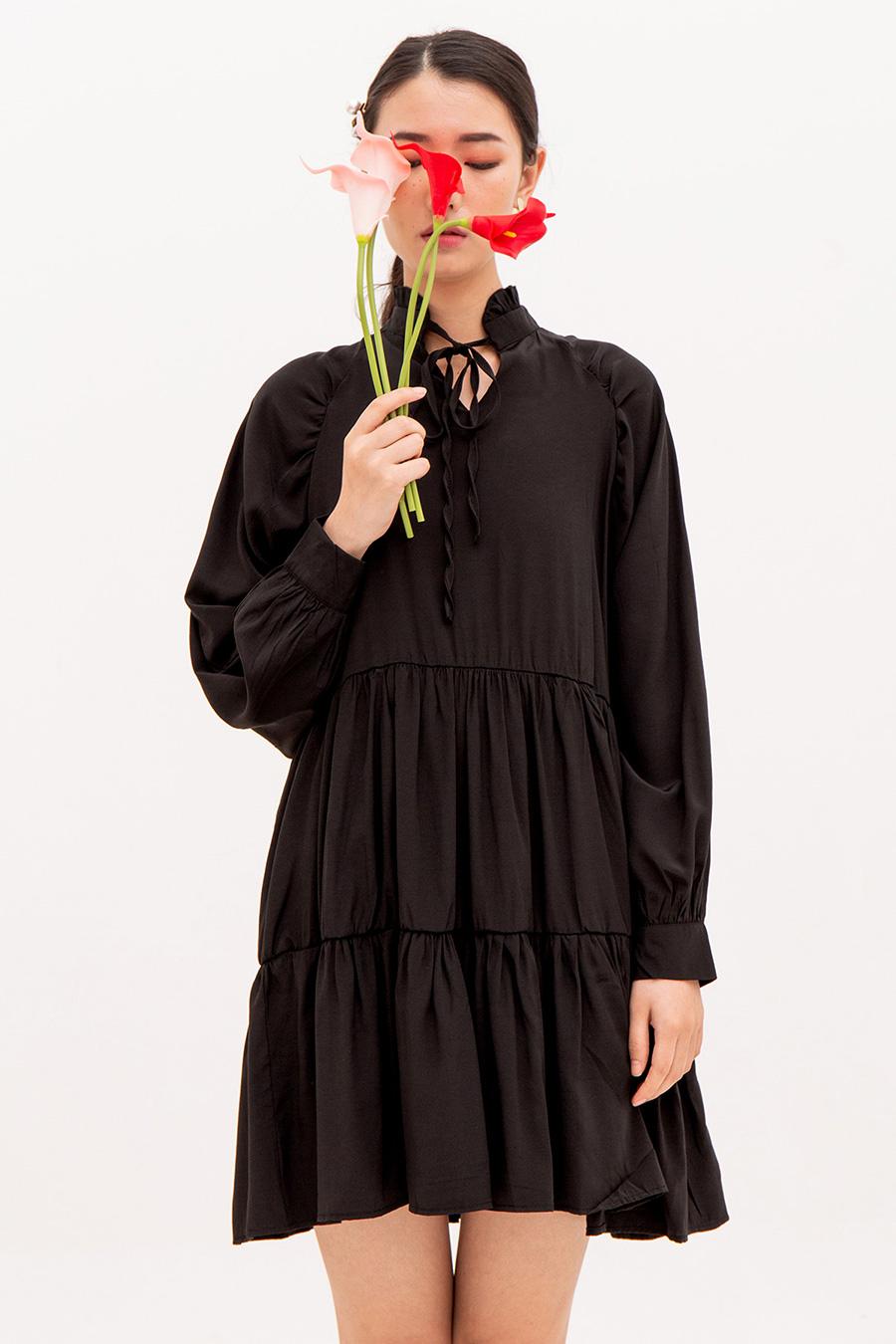 LEONEL DRESS - NOIR