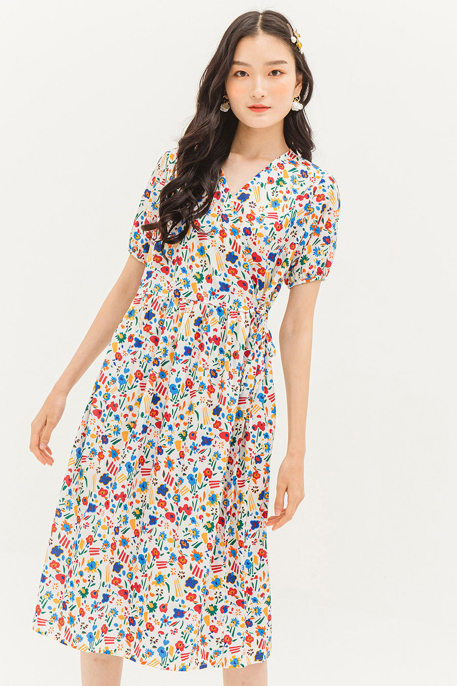 *RESTOCKED* LILA DRESS - ANEMONE