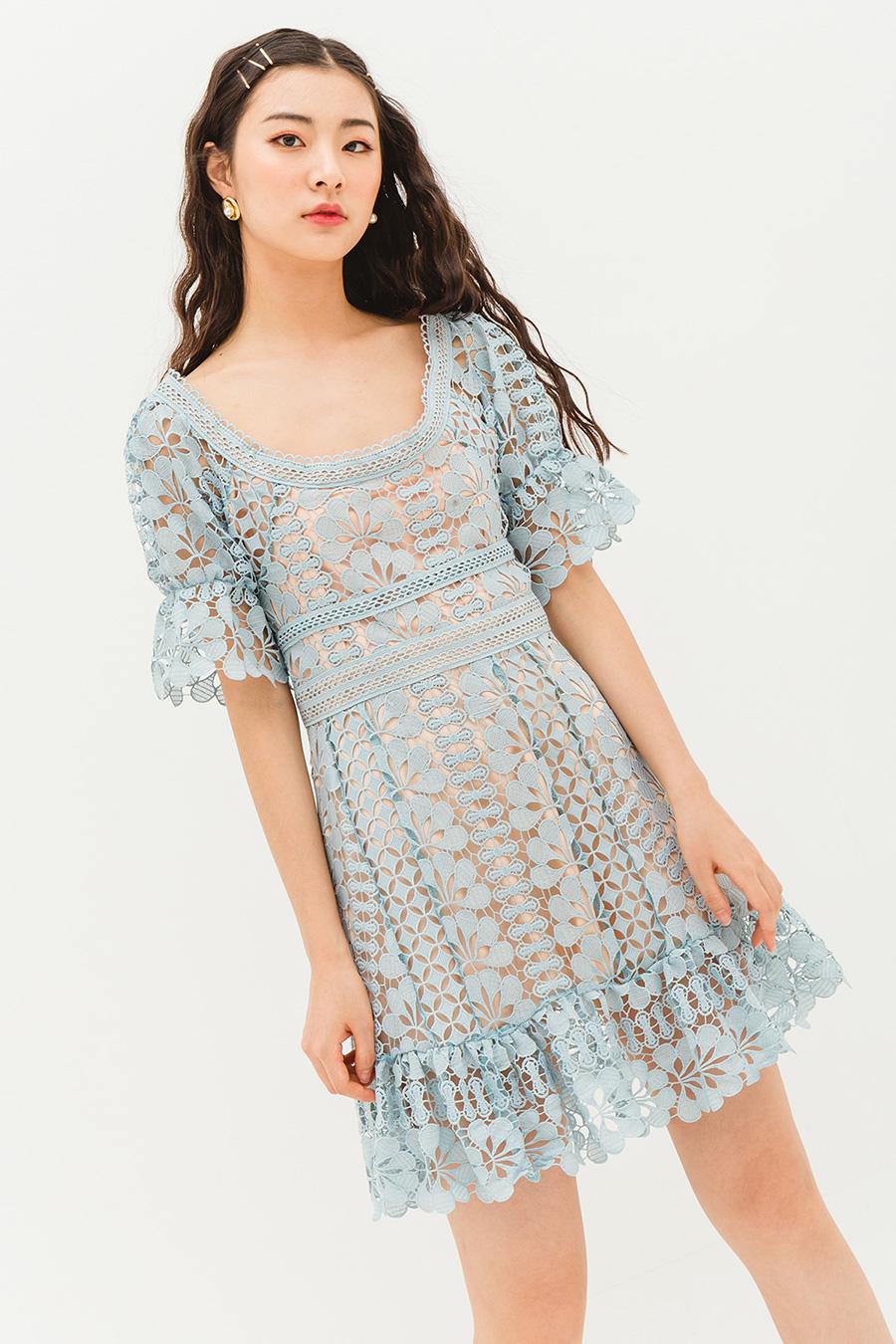 LILA DRESS - LAKE BLUE