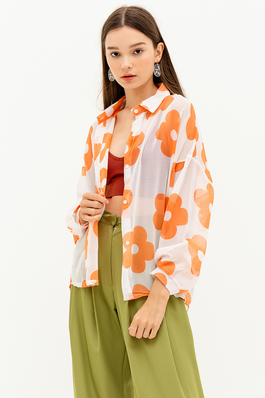 *SALE* LILAH TOP - POPPY