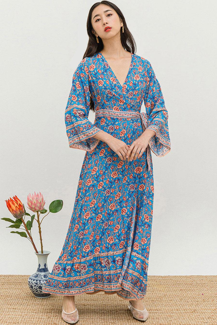LINNEA DRESS - DENDROBIUM