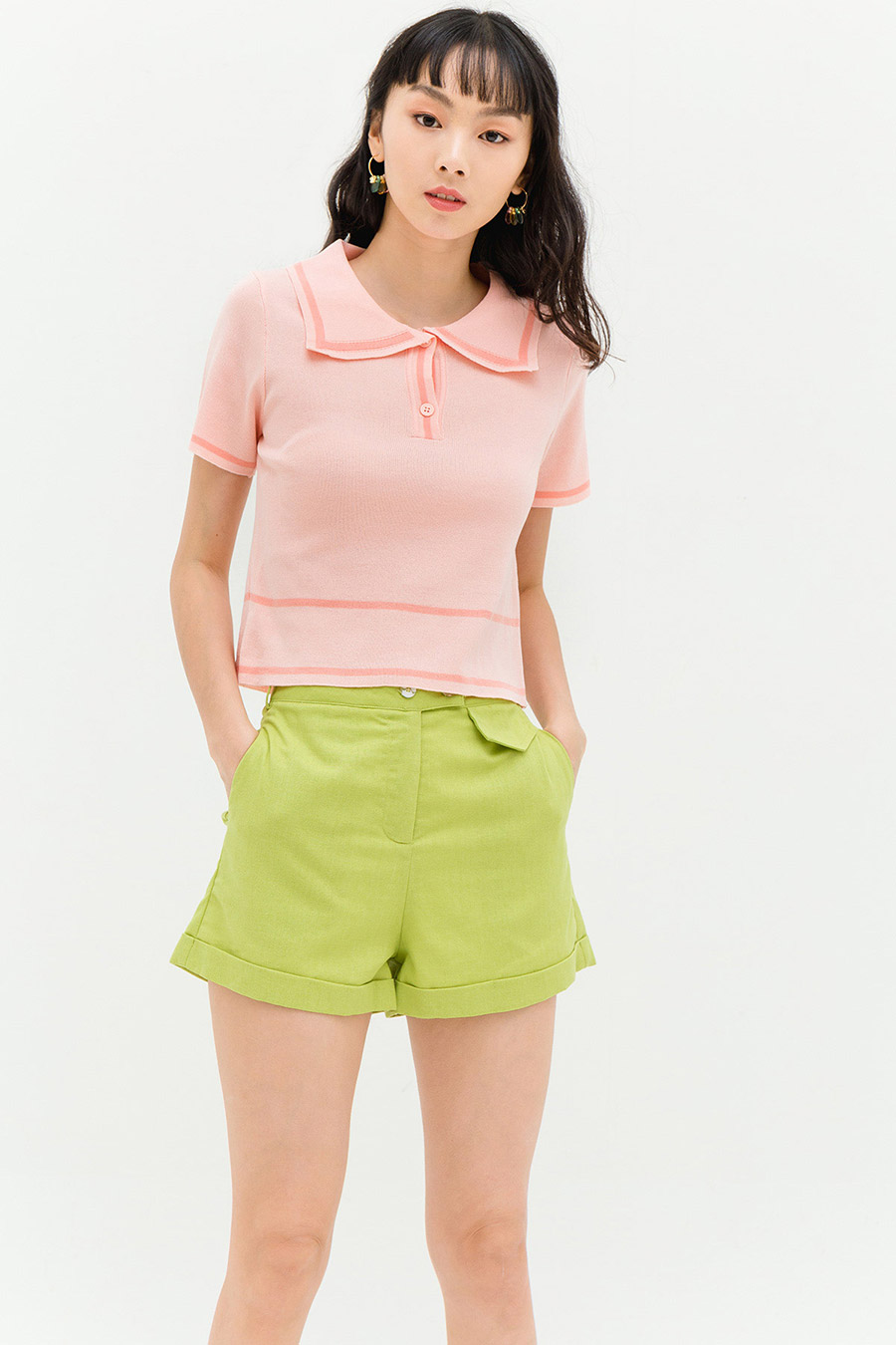 LIZETTE TOP - PATIO PINK