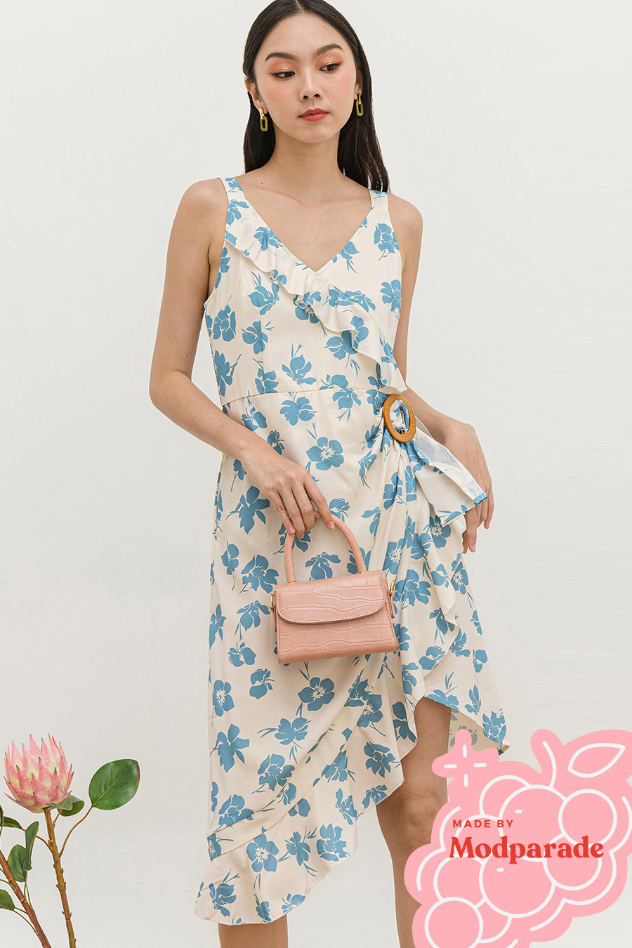 *SALE* LIZZIE DRESS - BLUE BELL [BY MODPARADE]