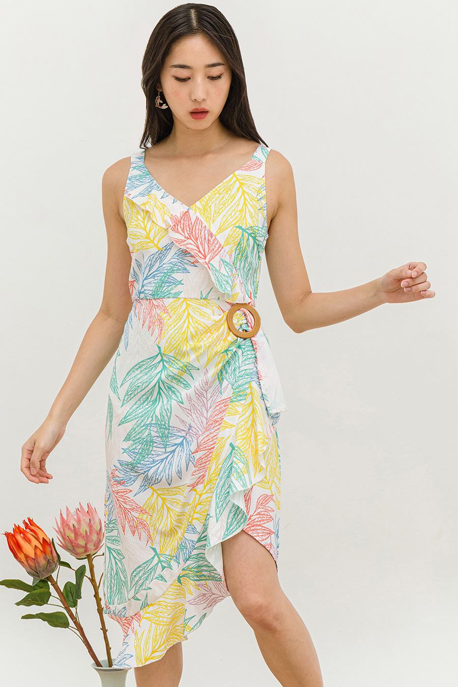 *SALE* LIZZIE DRESS - GARDEN OF EDEN [BY MODPARADE]