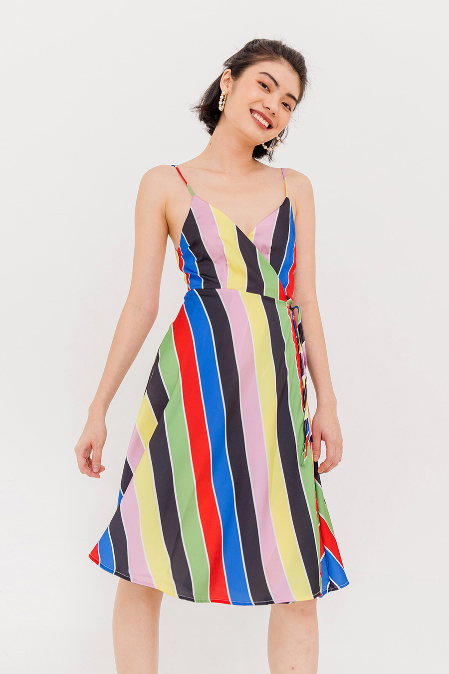 *SALE* LOLA THIN STRAP DRESS -MULTI