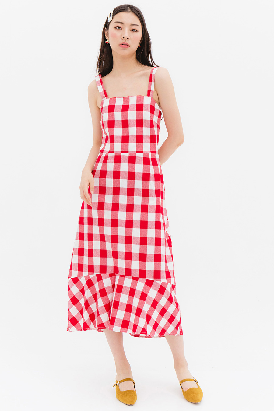 *SALE* LOMITA DRESS - CHERRY HAM