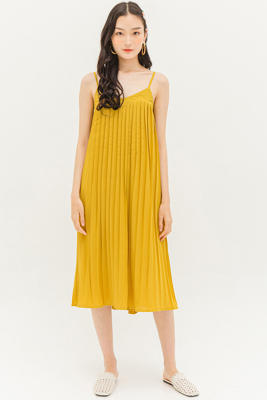 LOUISA DRESS - MARIGOLD