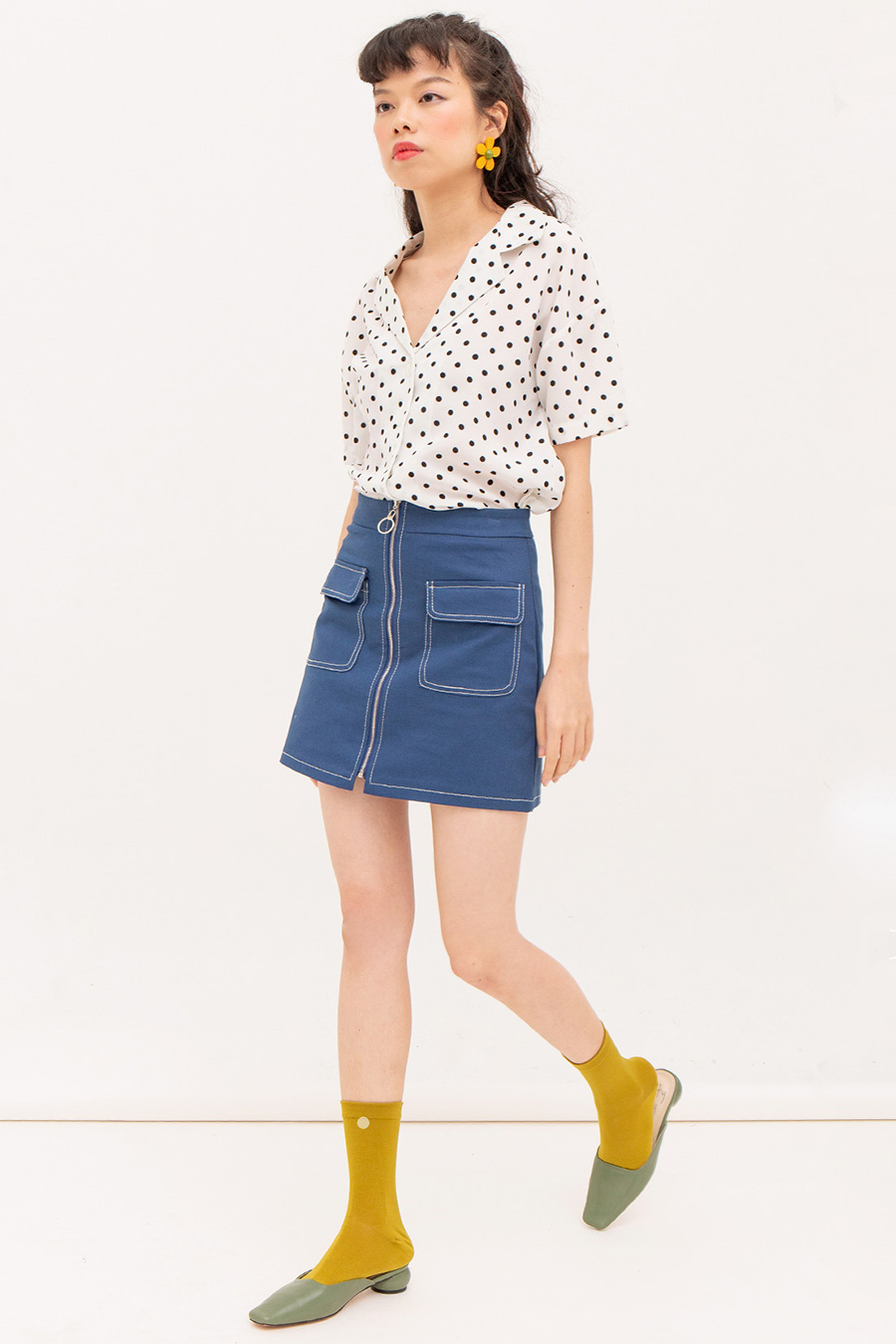 *SALE* LOUISETTE SKIRT - YALE