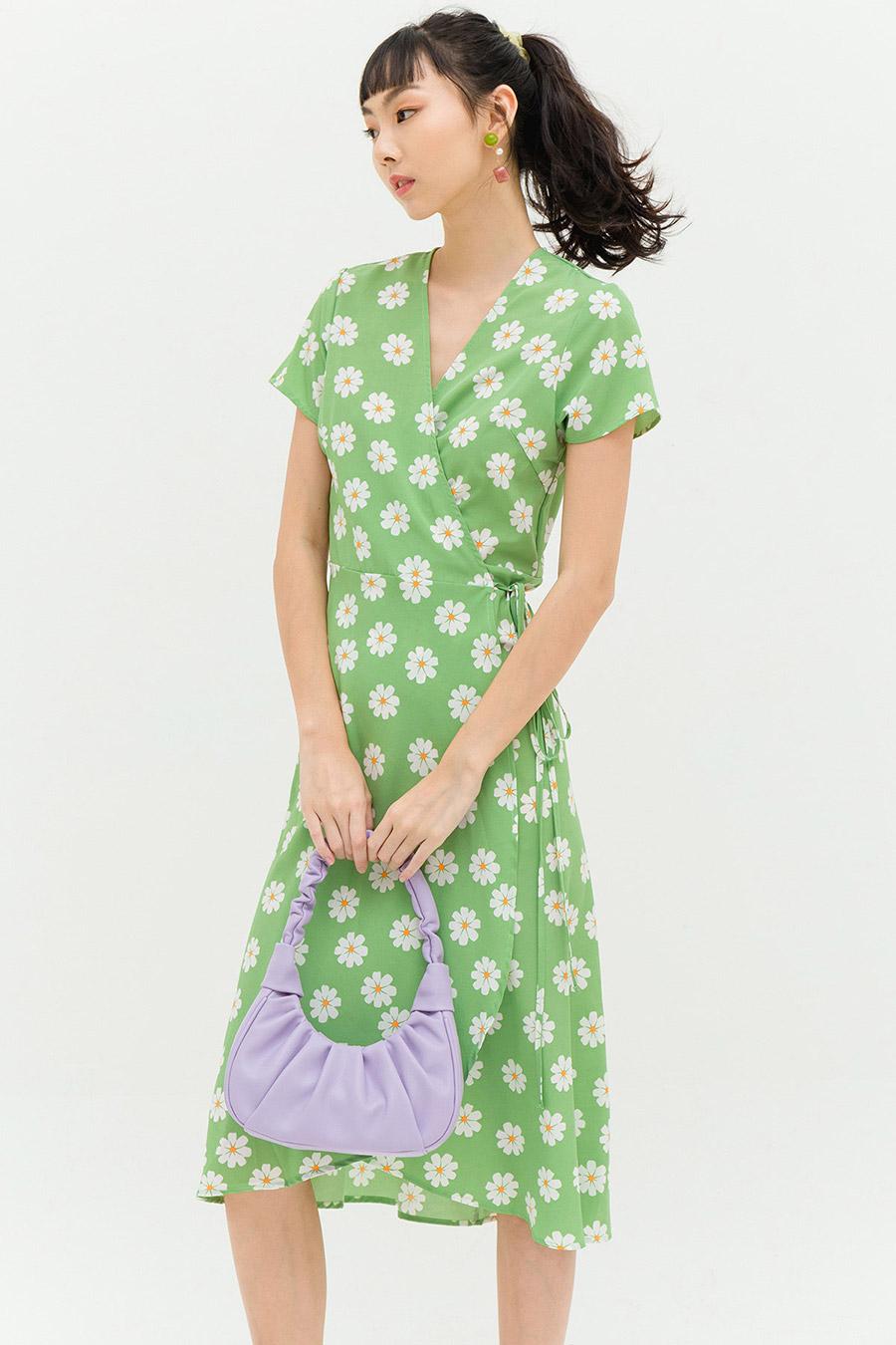 LOWE DRESS - SAGE FLEUR