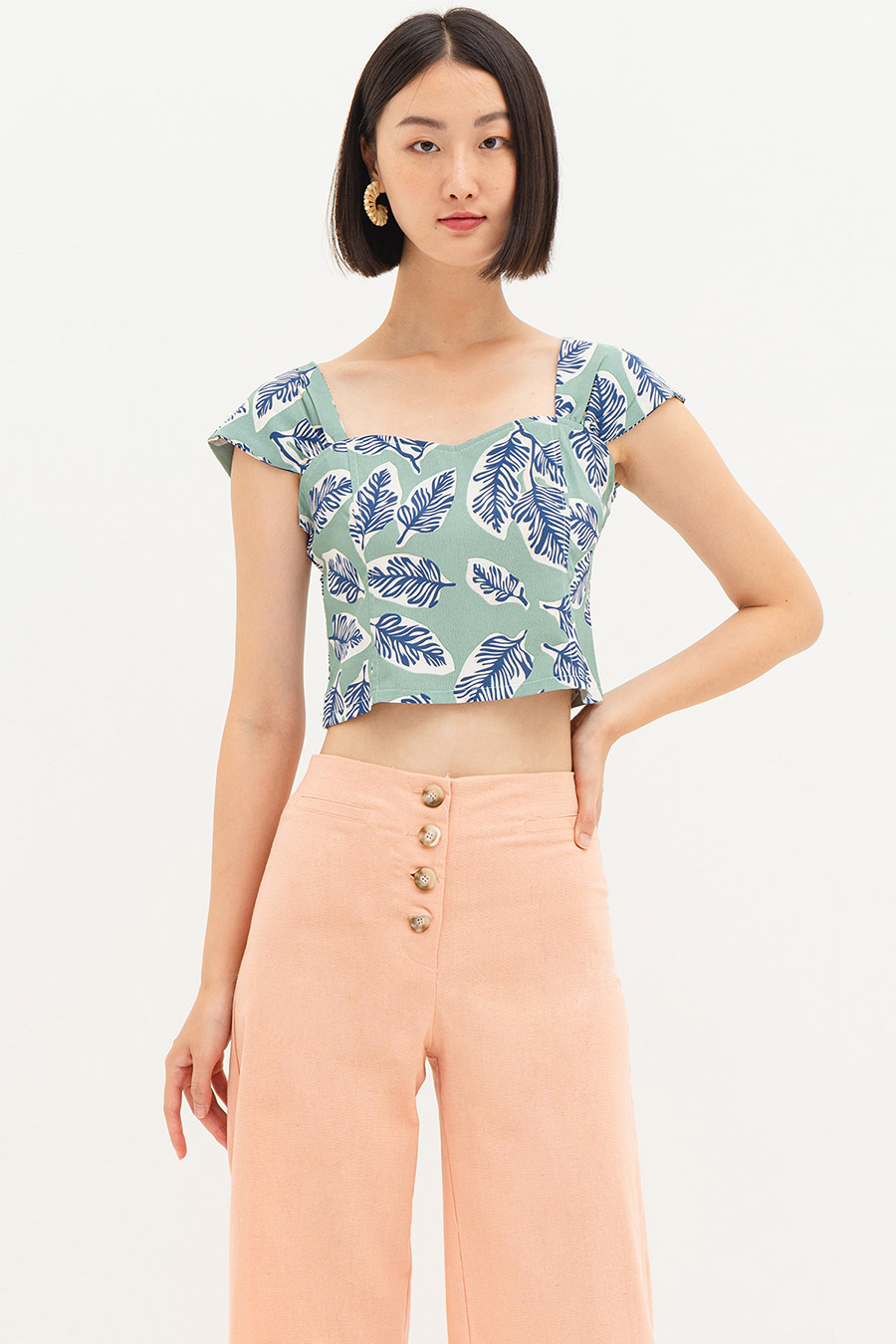 *SALE* LUCIA TOP - MOLOKAI [BY MODPARADE]