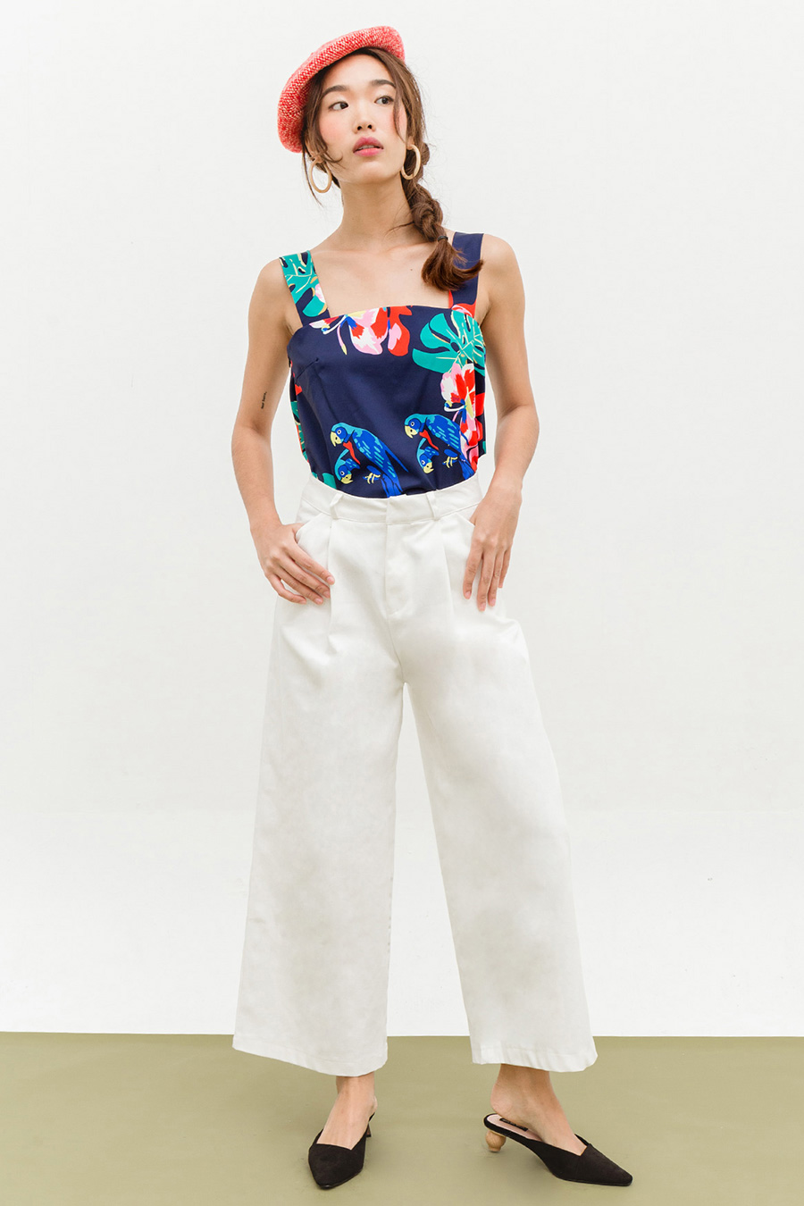 LUCIAN PANTS - IVORY