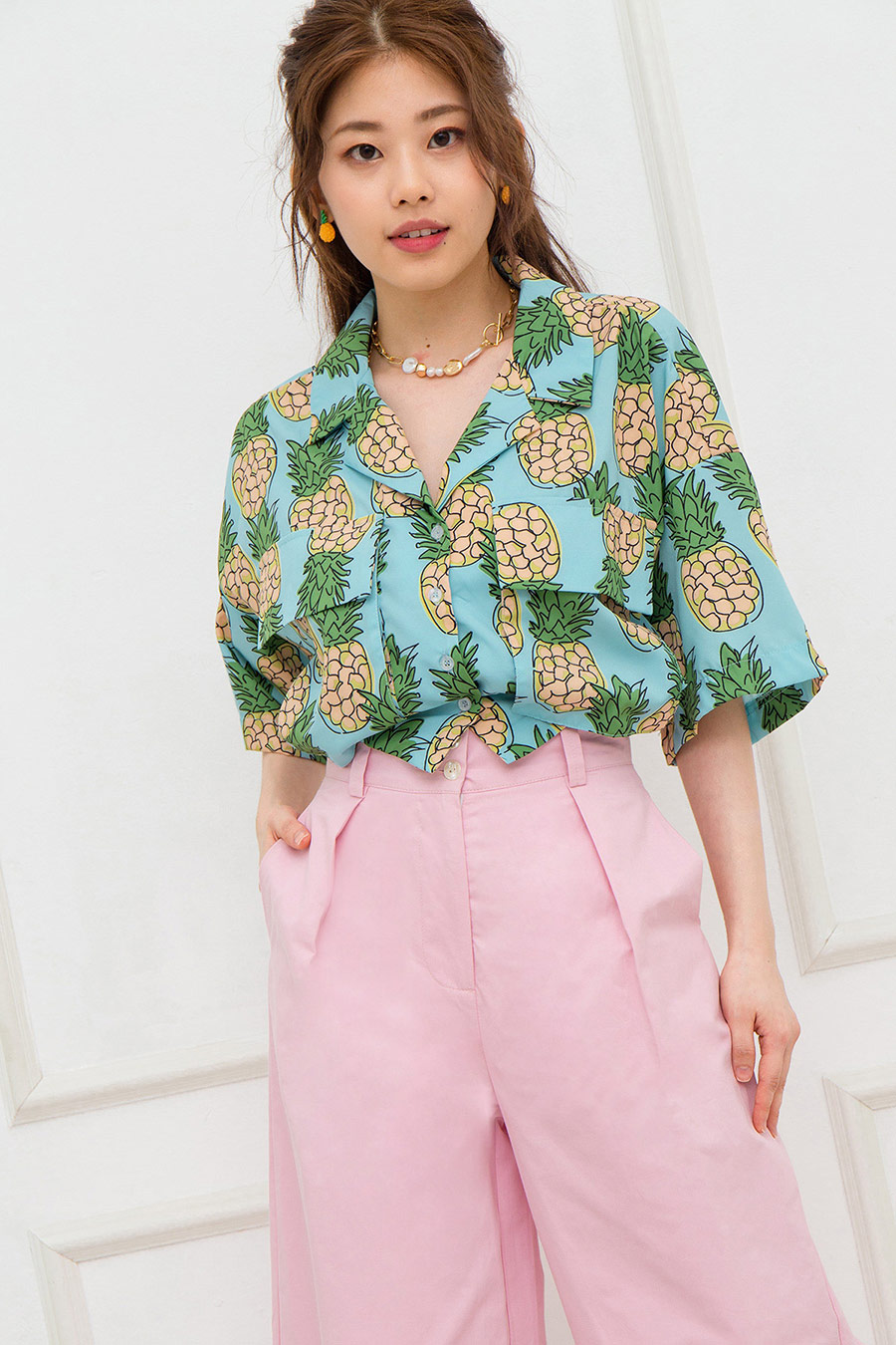*BO* LUCIE TOP - ANANAS