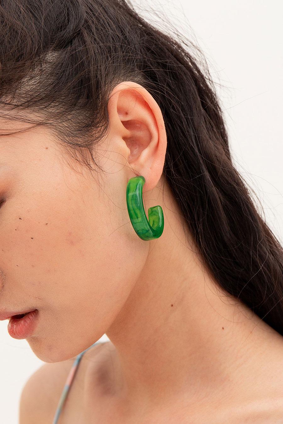 LUCINE EARRING - JADE