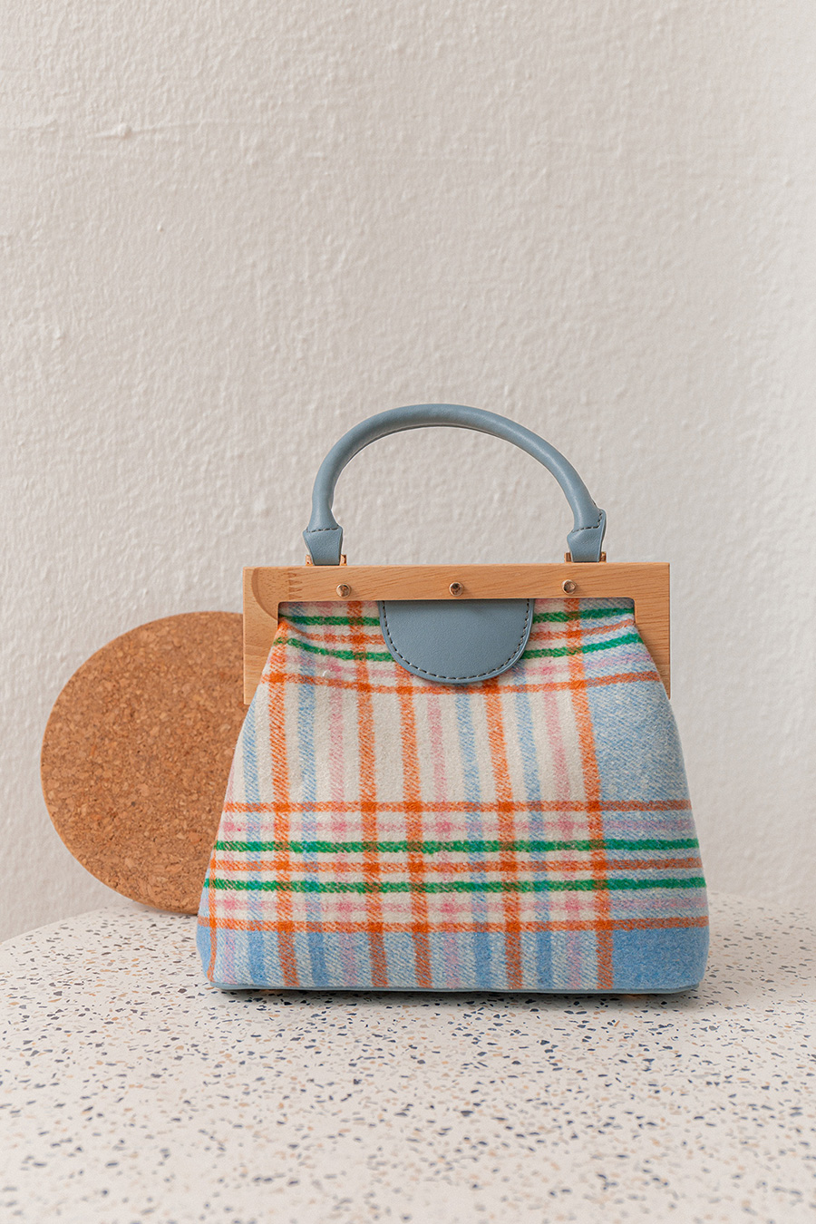 *BO* MAEVE BAG - PLAID
