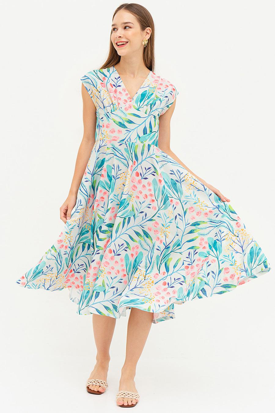 *RESTOCKED* MAGDA DRESS - ASAGO [BY MODPARADE]