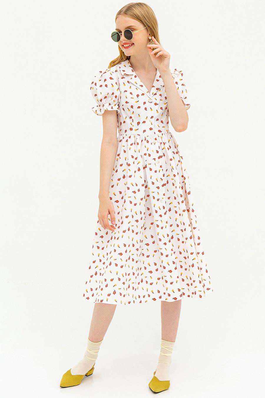*RESTOCKED* MAGDALENE DRESS - POPPY [BY MODPARADE]