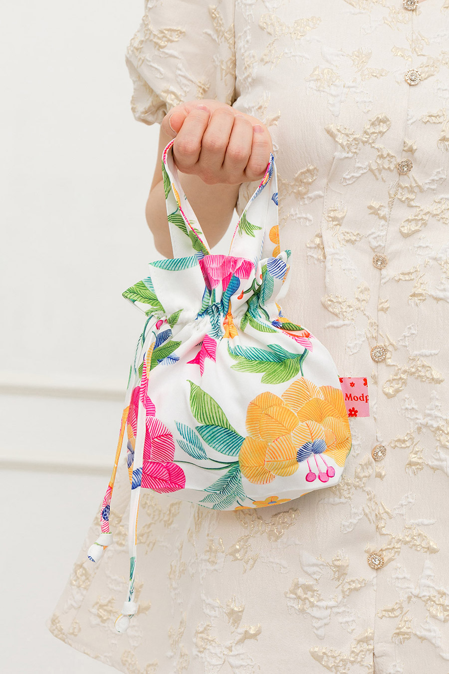 MANDARIN ORANGE BAG - CHRYSANTHE [BY MODPARADE]