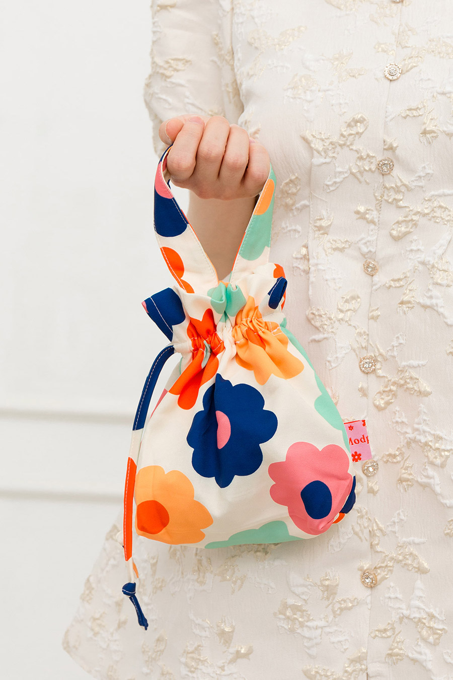 MANDARIN ORANGE BAG - HOLLY [BY MODPARADE]