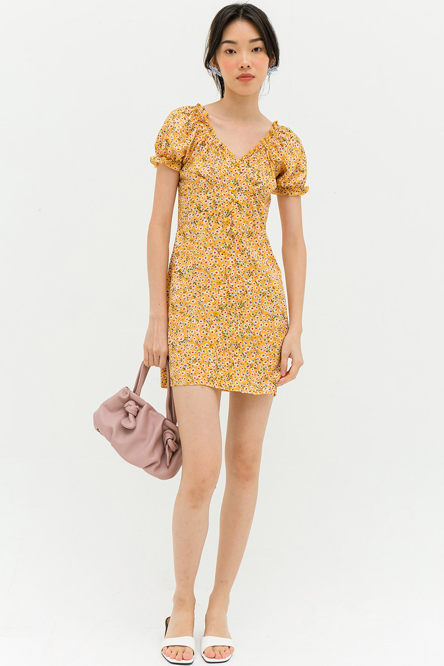 MANOLO DRESS - HARVEST