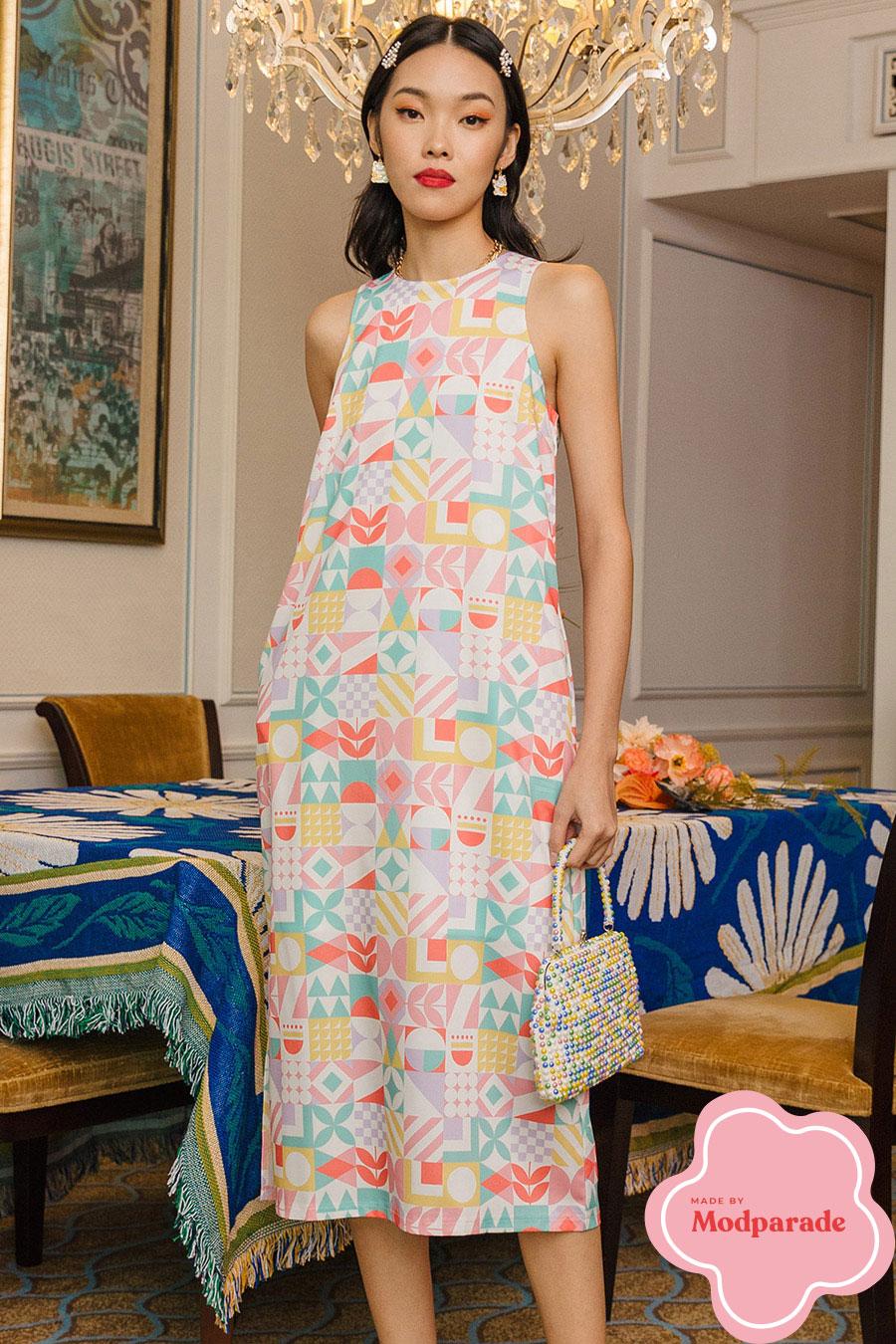 *BO* MAREN DRESS - IDYLLIC [BY MODPARADE]