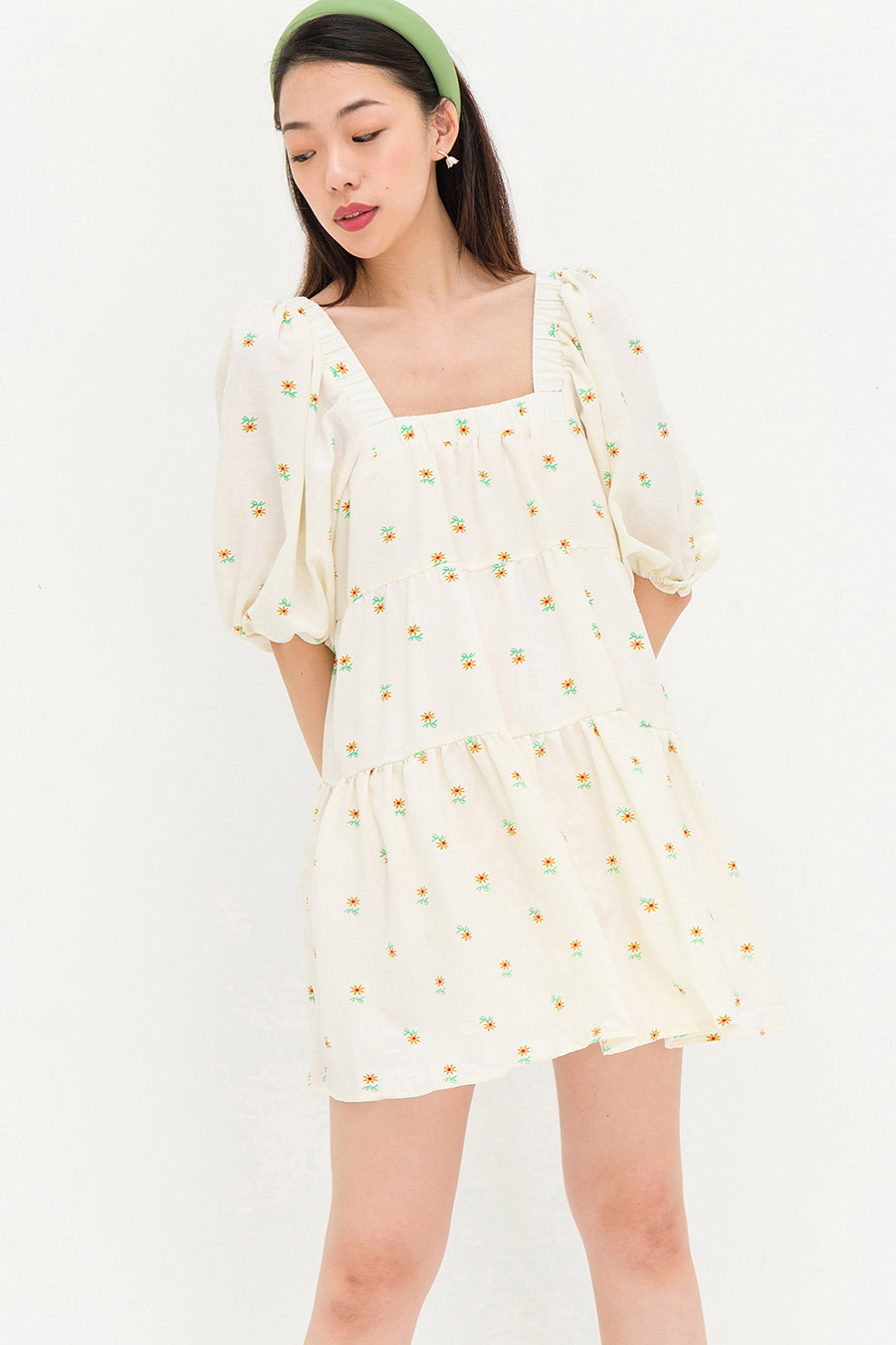 MARIE DRESS - SUNFLOWER