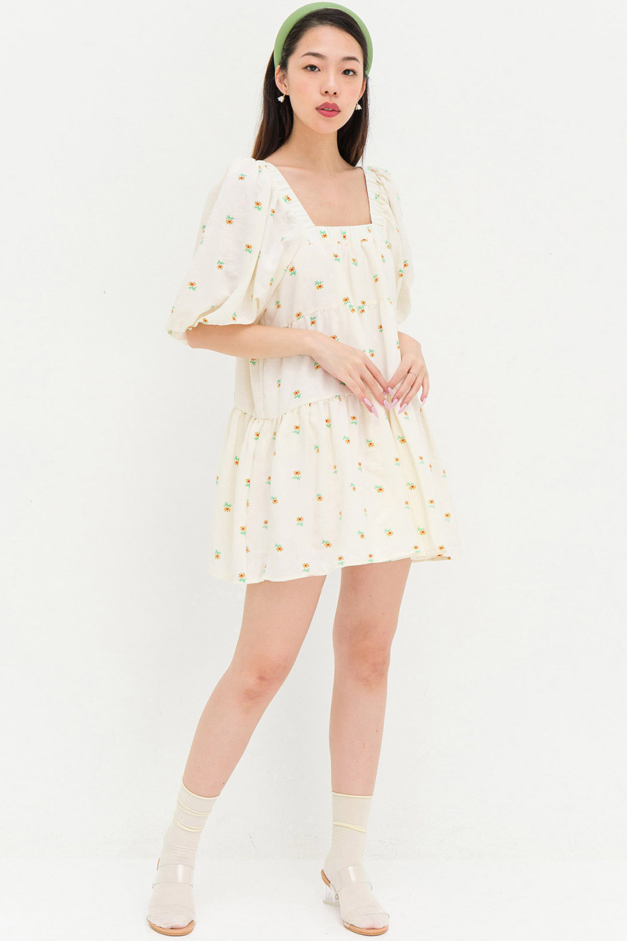 MARIE DRESS - SUNFLOWER
