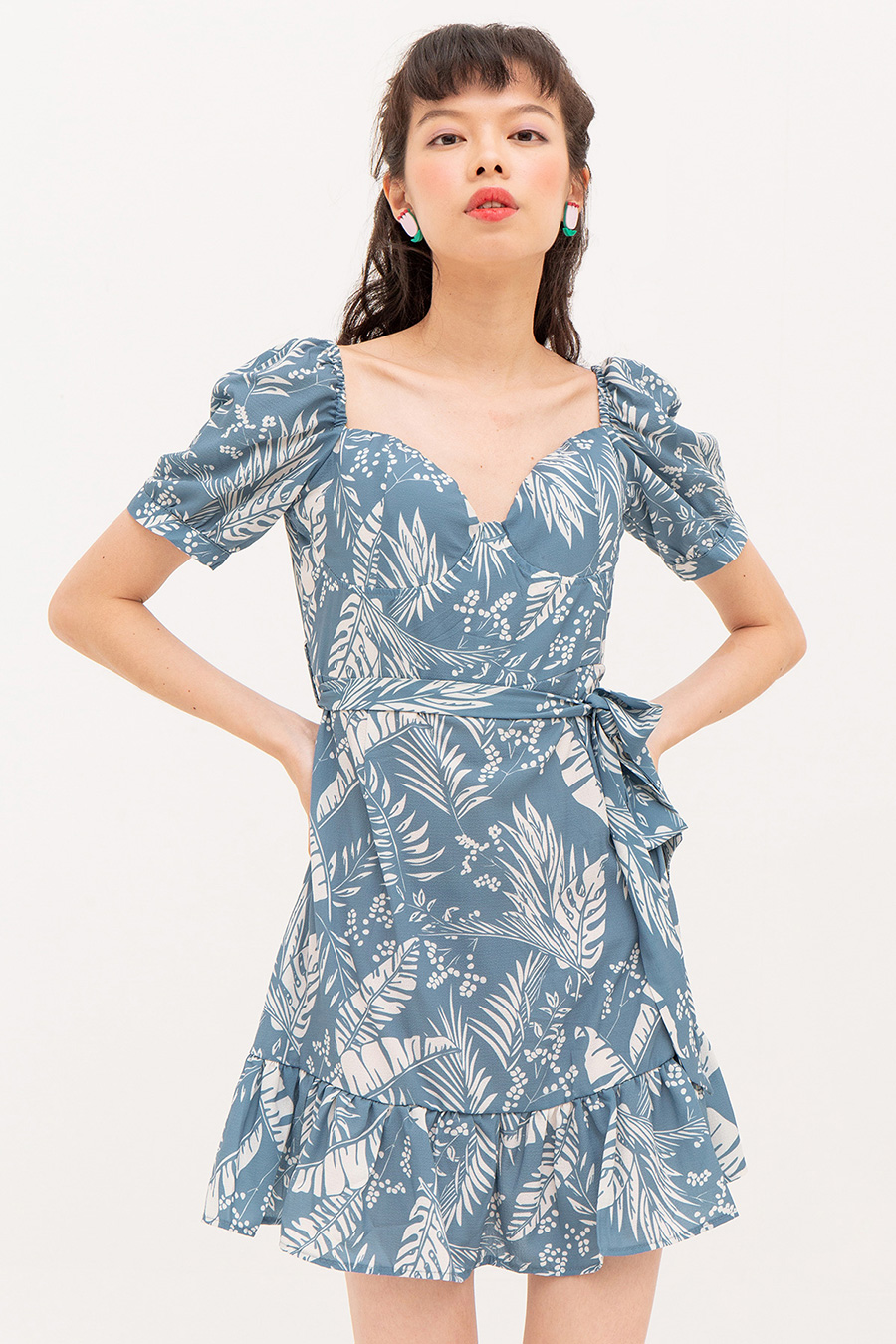 MARION DRESS - TROPIC
