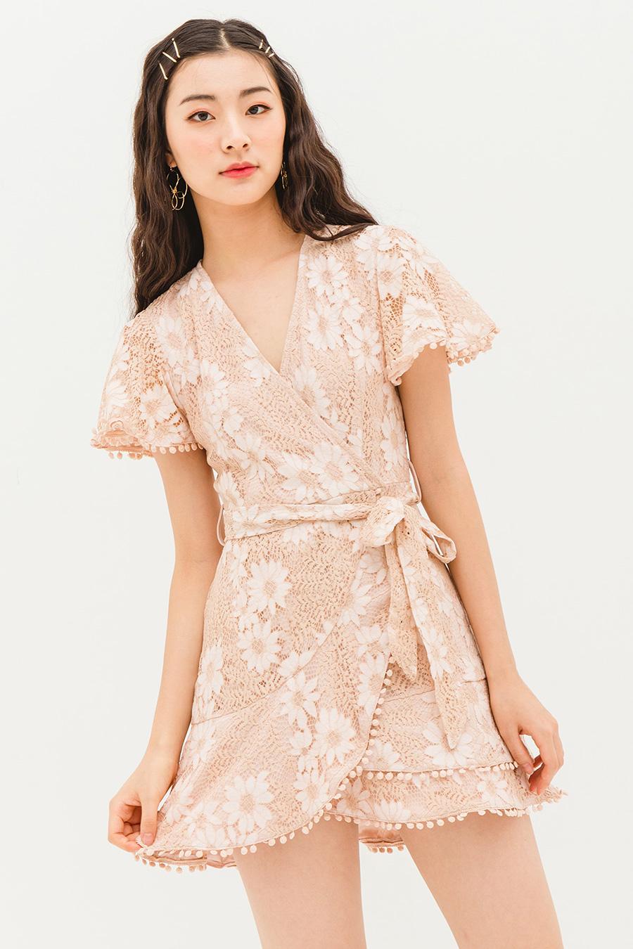*BO* MILA DRESS - NARCISSUS