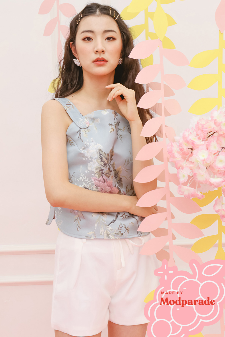 *RESTOCKED* MIWU TOP - BLOSSOM [BY MODPARADE]